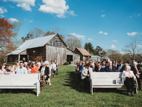 Beautiful Ceremony at West Milford Farms in Cumming, GA