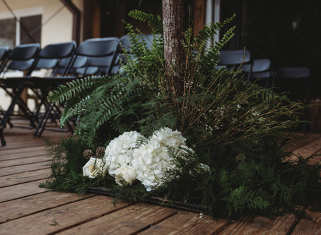 Beautiful Earthy Wedding at the Dunwoody Nature Center!!