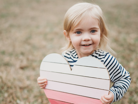 Valentine's Mini Session with Cuties!