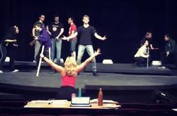 Bloody Bloody Andrew Jackson Rehearsal
