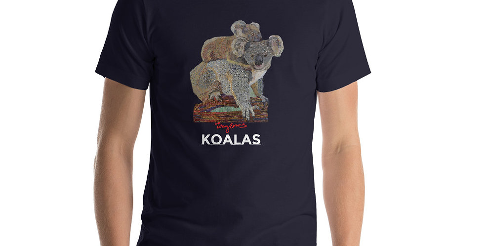 Koalas Short-Sleeve Unisex T-Shirt