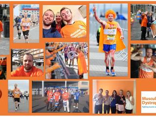 OurEditor Peter is running Marathons in May for MDUK!