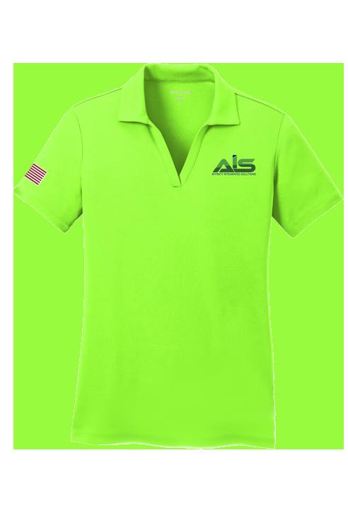 Ladies AIS Short Sleeves Shirts