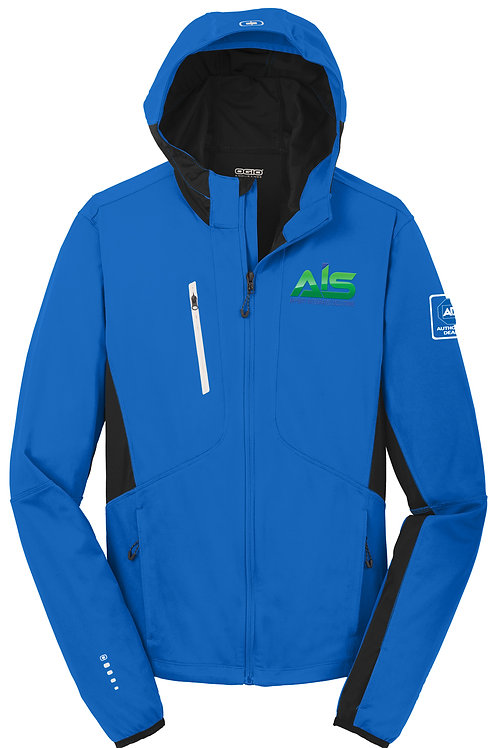 AIS Electric Blue Men Jacket OE721