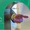 Thumbnail: Totem distributeur de solution virucide
