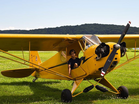 Young Pilots USA to Sponsor Charitable Coast-to-Coast Flight of Piper Cub
