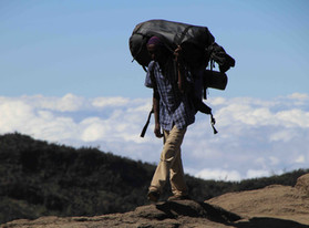 Kilimanjaro, Tanzanie - Hakuna matata la devise des porteurs