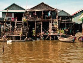 Siem Reap, Cambodge - Les villages flottants du lac Tonlé Sap