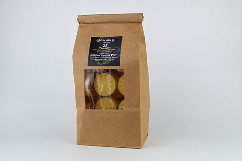 100% Pure Beeswax Tealights (Bag of 25)