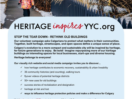 Stop The Tear Down, Rethink Old Buildings!
