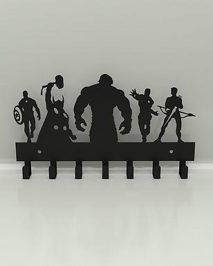 Perchero / Porta llaves Super Heroes