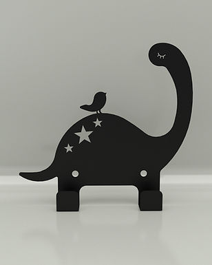 Perchero / Colgador Dinosaurio