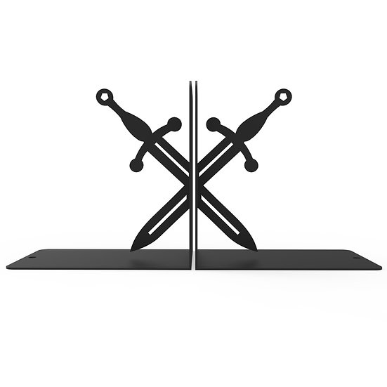 Sujeta Libros Espadas Medievales