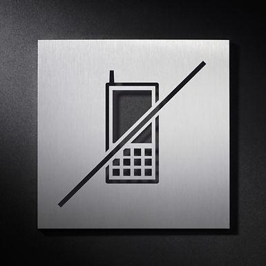 Prohibido uso del telefono Mod. SEÑ001