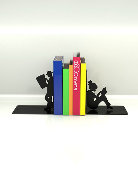 Sujeta Libros Leyendo