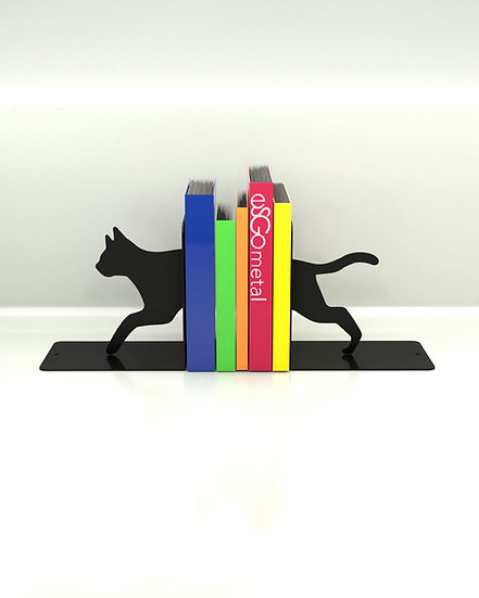 Sujeta Libros Gato