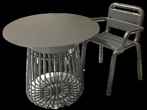 Mesa cubierta de 60 cms.  Mod. Mes1012
