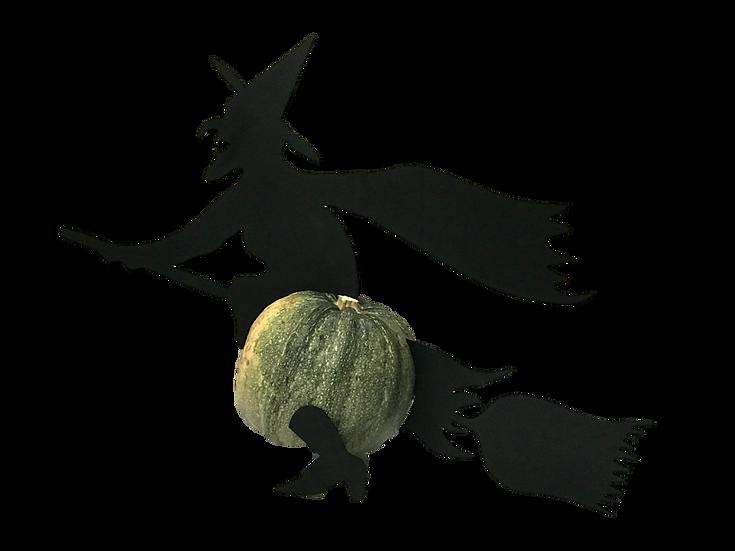 Decoración para Calabaza de Bruja