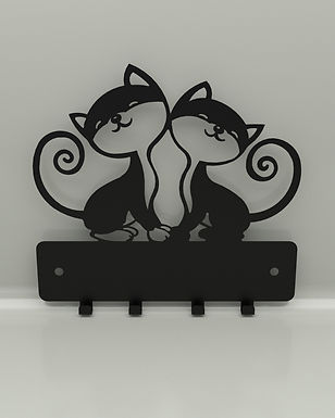 Perchero / Colgador Gatos