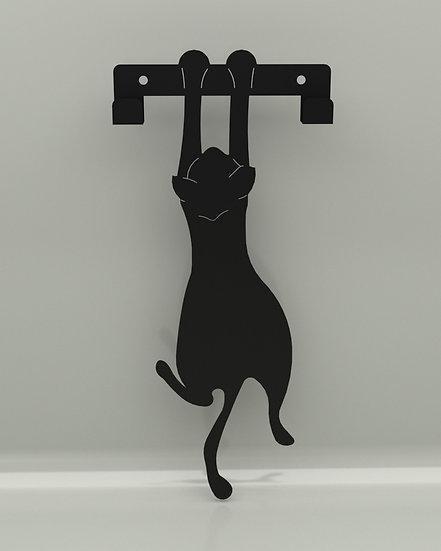 Perchero / Colgador Gato Colgado