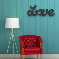Arte para muro Love