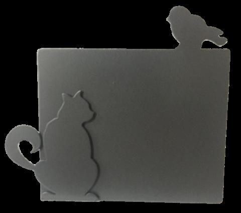 Porta Retrato Gato con Pájaro PRG252