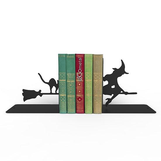 Sujeta Libros Bruja & Gato