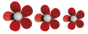 Perchero Flores (3) PEF257