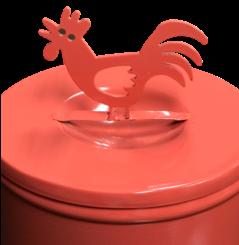 Recipente gallo2