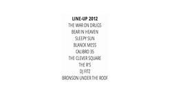 BEACHES BREW LINE-UP 2012