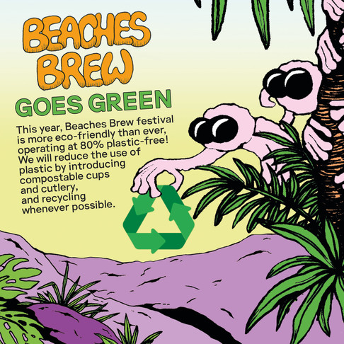 Beaches Brew Goes Green