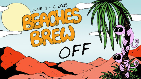 Off Program during Beaches Brew 2019!
