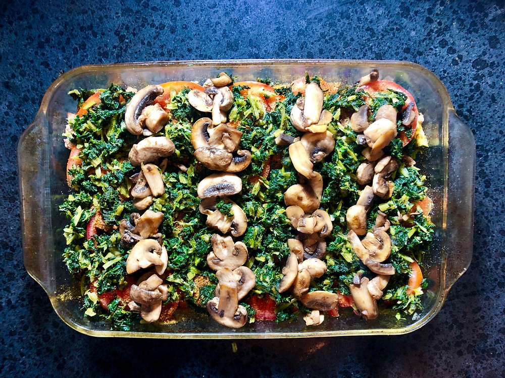 Paleo Casserole with Turkey, Peppers, and Zucchini