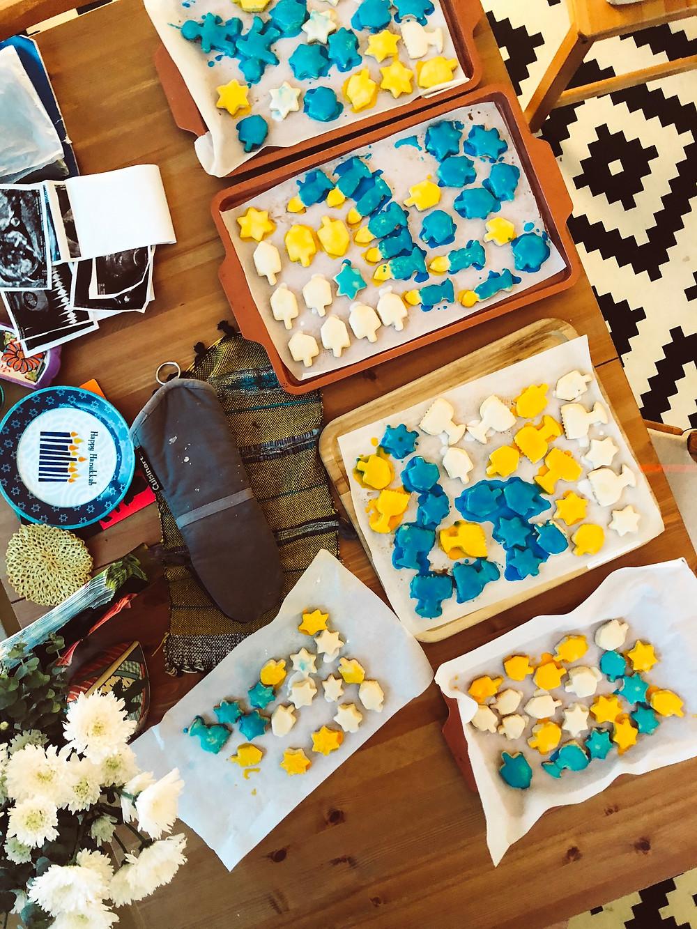 Hanukkah Parve Sugar Cookies