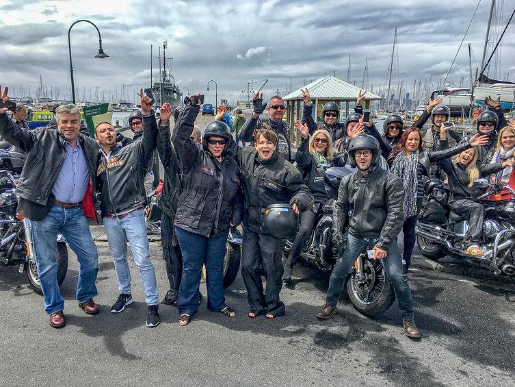 Team Building Ideas involving Harley Davidson Group ride activities