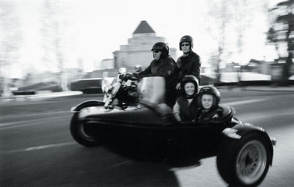 Sidecar Harley Ride