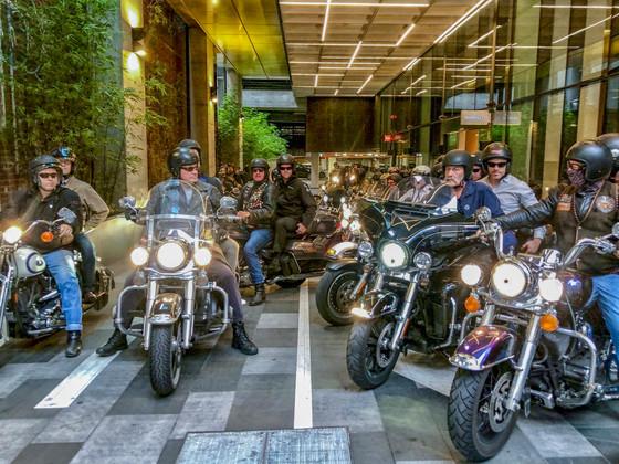 Motorcycle Rider Tsunami