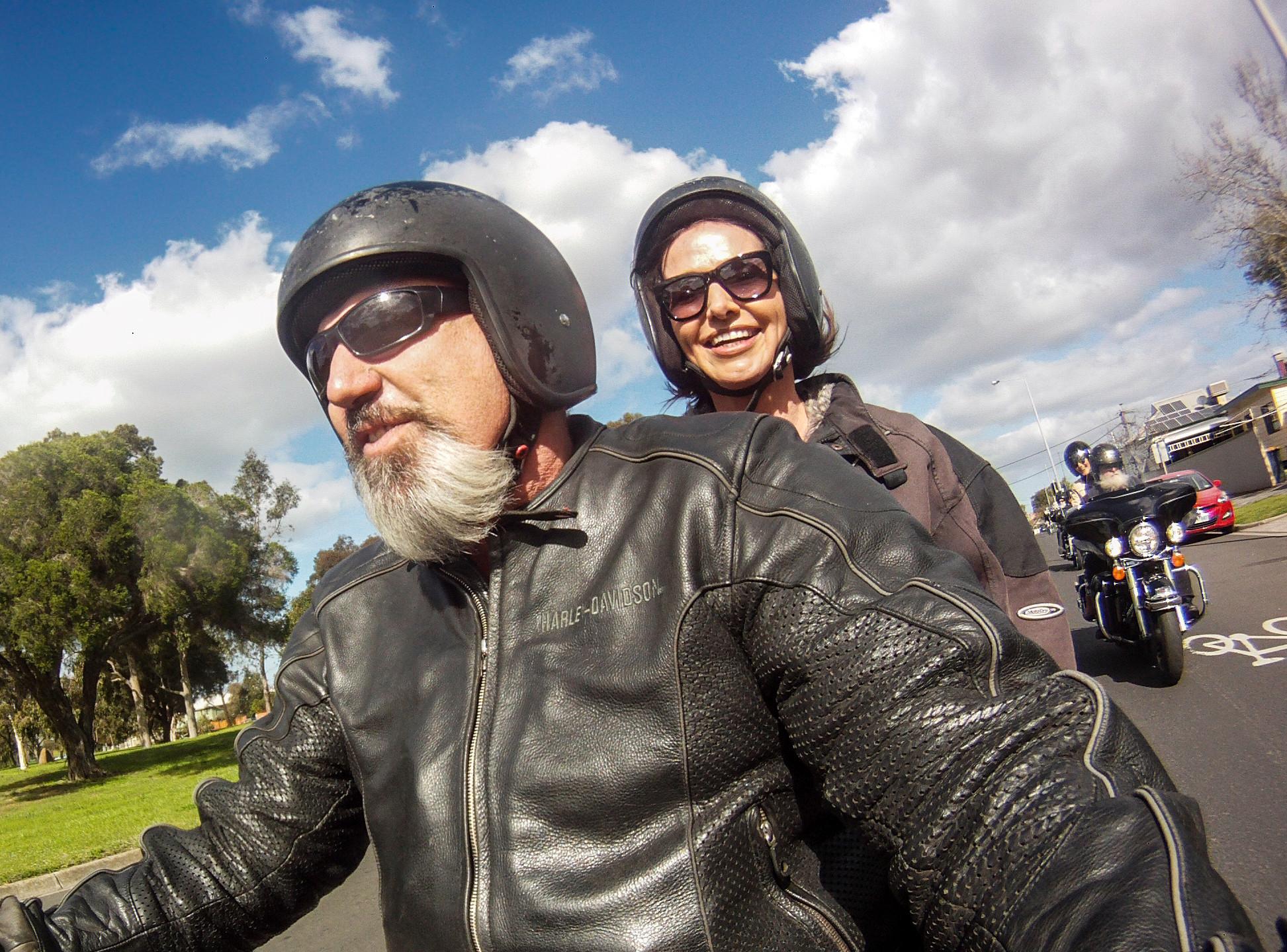 Birthday Harley Ride
