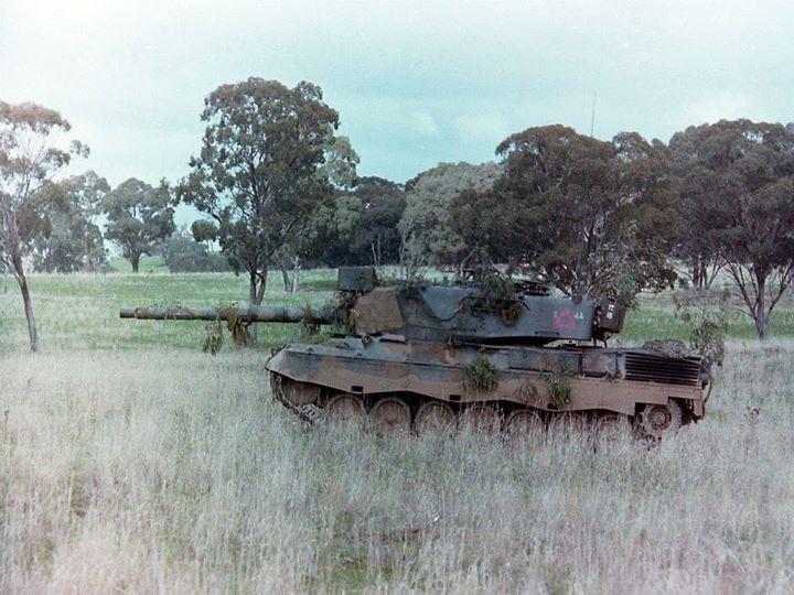 Australian Leoapard AS1 Main Battle Tank