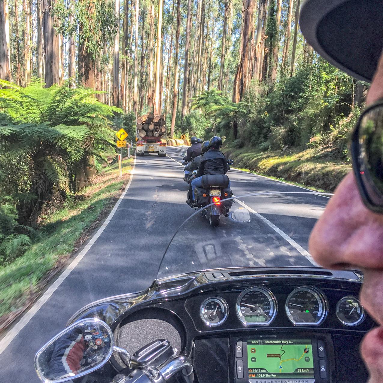 Black Spur Harley Ride