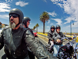 Harley Rides with friends