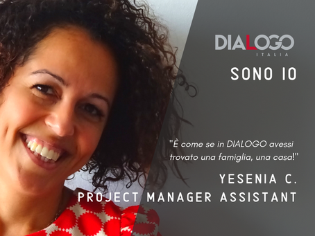 DIALOGO Sono Io - Yesenia C. - Project Manager Assistant