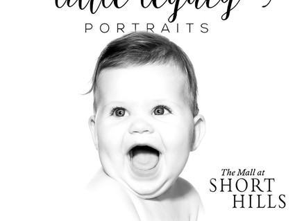 Little Legacy Pop-Up Store in Pottery Barn at Short Hills Mall Sunday Oct 22nd, 2017!