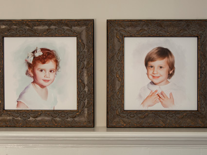 Now Offering Original Painted Portraits