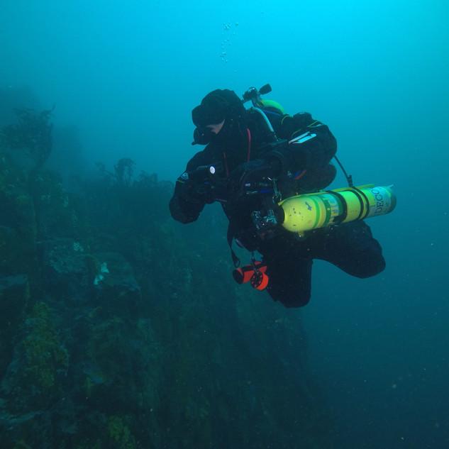 TEK Diving El Penitente