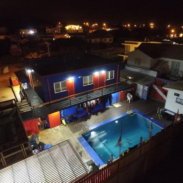 Night view Casa Azul