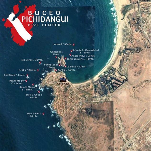 Dive Sites Pichidangui