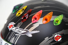 Antman custom trix helmet paint and accessories.