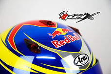 Jack Doohan, air duct, antman custom trix, helmet paint
