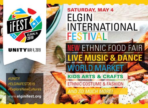 Elgin International Festival Sat, MAY 4th